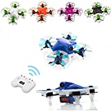 DYS ELF Brushless Micro/Mini Racing Drone BE1102 10000KV Motors,5.8G High-Speed (FPV) RTF Quadcopter with Wide-angle HD Camera 83mm Easy Control with OSD/F3/Beep Warning (White)