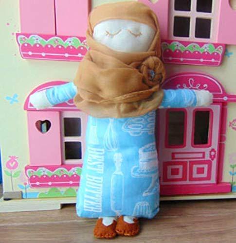 Muslim Doll Clothes With Hijab Girls Eid Gift