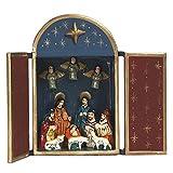 Peruvian Handmade Nativity Box 'Starry Night Nativity'