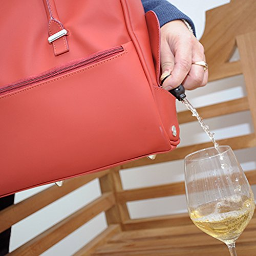 DrinksBag - Bolso mochila  para mujer rojo - rojo