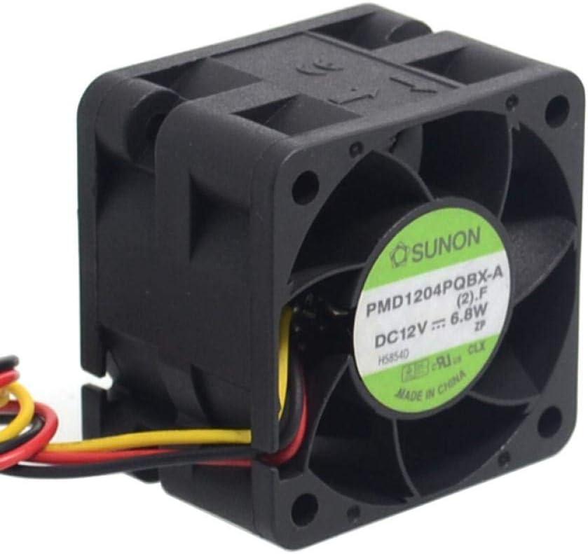Speed Server Fans 404028mm SUNON Orginal PMD1204PQBX-A 4CM 4028 12V 6.8W High