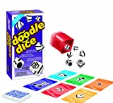 Jax Ltd. Doodle Dice Trilingual Family Board-Game