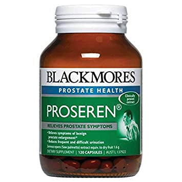Blackmores Proseren Prostate Support 120 Caps to help