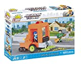 COBI 1784 Action Town-Street Sweeper (215 Pcs) Toy, Orange