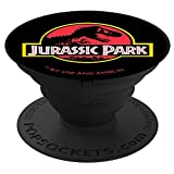 Jurassic Park Classic Logo PopSockets Stand for Smartphones and Tablets