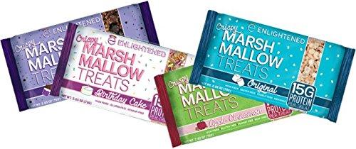 BEYOND BETTER FOODS- ENLIGHTENED CRISPY MARSHMALLOW TREATS-4 PACK (VARIETY 4 (Marshmallow Treats)