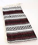 Best Sanyork Fair Trade Picnic Blankets - Maroon Burgundy Quality Hand Woven Classic Mexican Premium Review