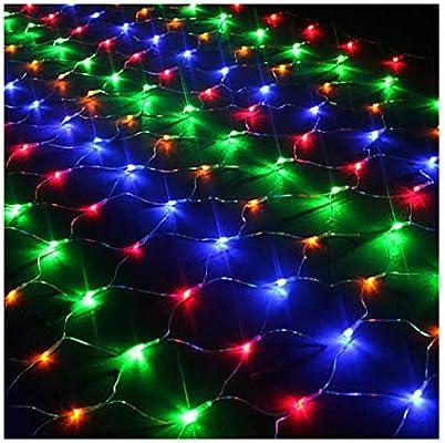 Luces LED 3m*2m 320 LED, Resistente al Agua, 8 Modos de Luces LED para Decoración de Ventana, Patio, Jardín,Bar, Navidad, Día de San Valentín, Boda,etc (Multicolor): Amazon.es: Iluminación