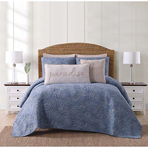 Oceanfront Resort Qs2364Blfq-2300 Full/Queen Quilt Set, Blue