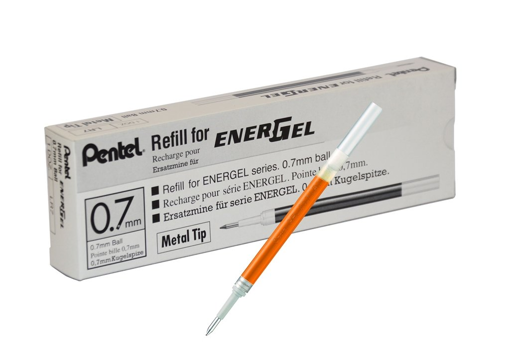 Pentel Refill Ink for EnerGel and Lancelot Gel Pen, 0.7mm...