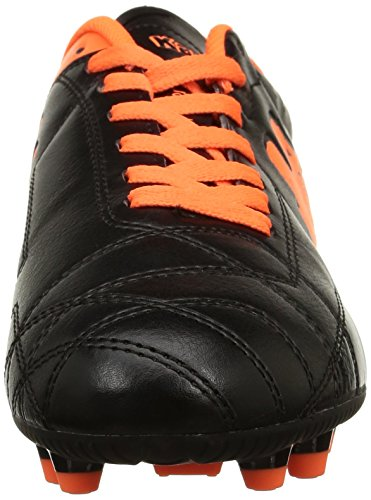 KappaPlayer Fg Base - Botas de Fútbol Hombre Negro - Noir (906/Black/Orange Fluo)