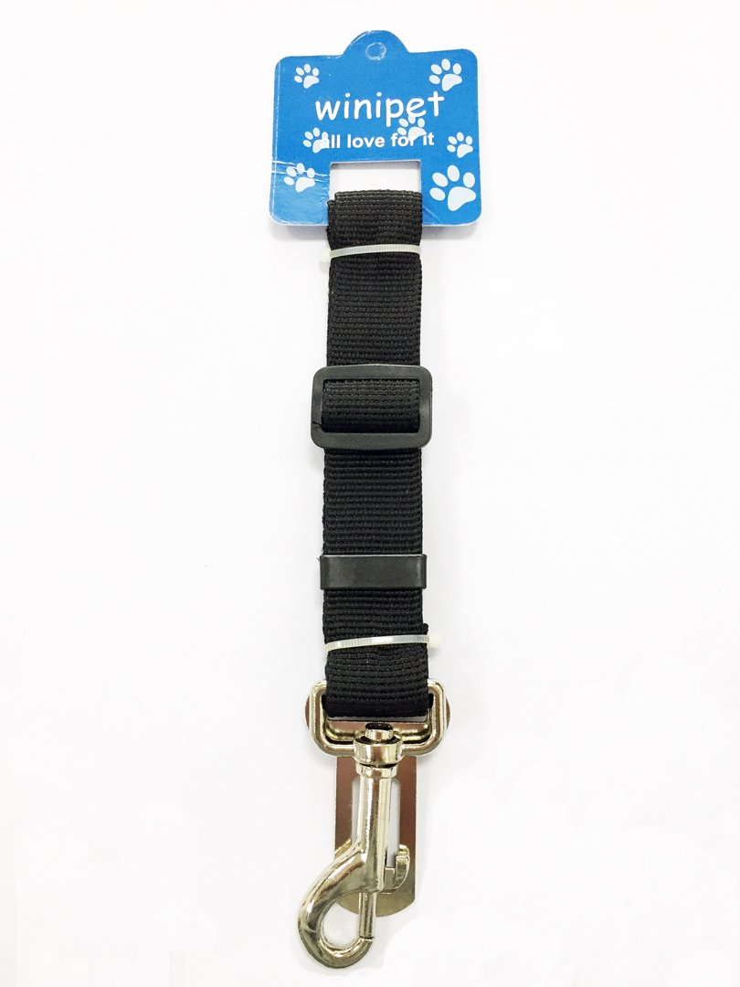 Jing Xiong Seat Belt Safety Belt for Car Vehicle Auto Available Black Dog Safety Harness