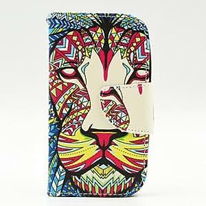WQQ tigre spider®colorful abierta la cubierta del caso de la PU billetera de cuero magia de pie con protector de pantalla para la galaxia G313