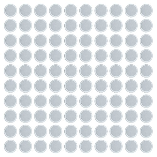 MagiDeal lot of 100 Round/Square 25/15mm Magnets Empty Eyesh