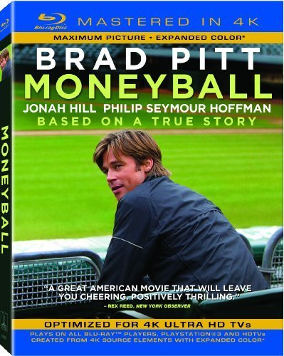 Moneyball (Mastered in 4K) (Single-Disc Blu-ray + UltraViolet Digital Copy) by Sony Pictures Home Entertainment