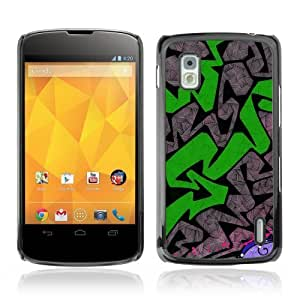 YOYOSHOP [Graffiti Pattern] LG Google Nexus 4 Case by icecream design