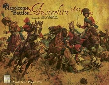 AUSTERLITZ 1805: Napoleonic Battles by War Games - Assorted Avalanche Press: Amazon.es: Juguetes y juegos