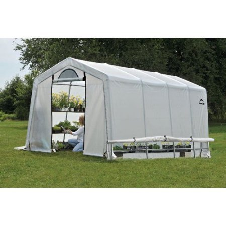 Greenhouse-In-A-Box Easy Flow Greenhouse Peak-Style, 10' x 20' x 8'