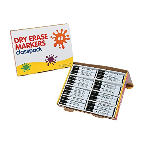 Black Dry Erase Markers Classpack by CusCus