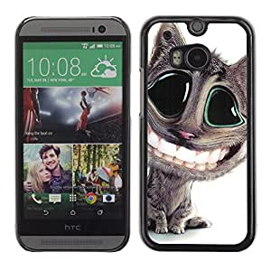 - Kitten Cat Pet Cute - - Hard Plastic Protective Aluminum Back Case Skin Cover FOR HTC One M8 Queen Pattern