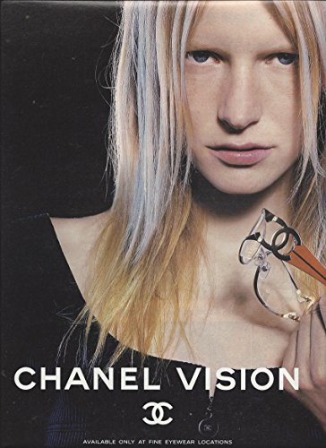 **PRINT AD** With Kirsten Owen For Chanel Visioni - Sunglasses Sale Chanel