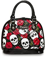 Loungefly Purse Skull and Roses Mini Dome Hanbag