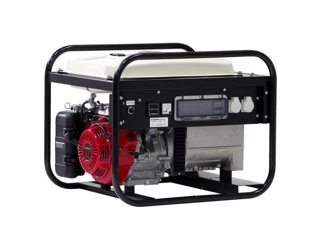 EP6000-25 Europower - Generador de corriente para Honda: Amazon.es: Industria, empresas y ciencia