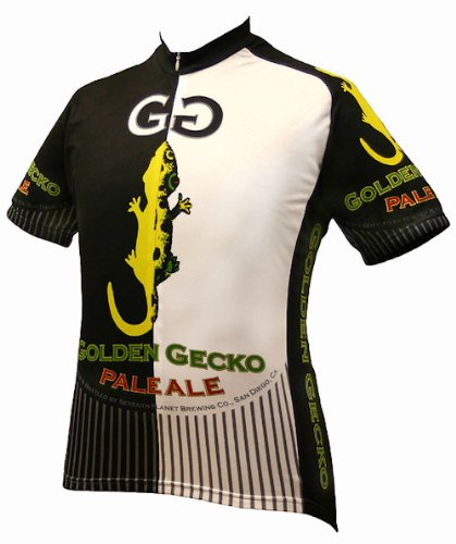 010533dda Image Unavailable. Image not available for. Color  Golden Gecko Pale Ale  Bicycle Jersey Xx-large