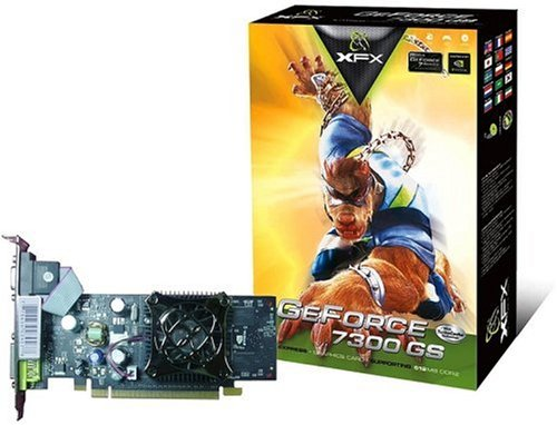 XFX PVT72GWANG GEFORCE 7300GS 256MB DDR2 TV DVI PCIE Video Card -