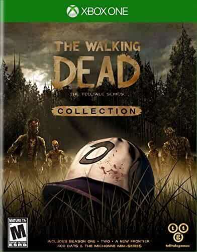 Amazon com: The Walking Dead Collection: The Telltale Series - Xbox