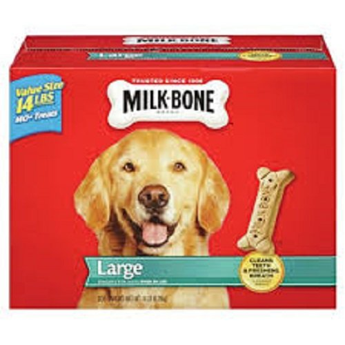 Bone Large Dog Biscuits (Milk-Bone Large Dog Biscuits, 14-Pound)