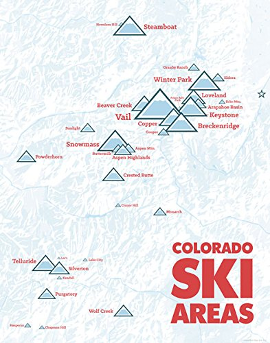 Amazon.com: Colorado Ski Resorts Map 11x14 Print (White & Red ... on colorado hot springs map, st martin resorts map, colorado skiing, lake tahoe map, colorado ski country map, arapahoe basin map, colorado map with cities, california map, colorado hotels map, breckenridge map, grenada resorts map, colorado road map, colorado snowboarding, colorado state map, ski granby ranch map, summit county colorado map, alaska map, royal gorge canon city colorado map, bristol mountain ski resort trail map, vail map,