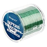 Magreel 40lb Braided Fishing Line, Abrasion Resistant Braided Lines High Performance Strong 4 Strand Superline Smaller Diameter Zero Stretch-327Yards