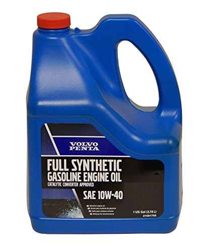 Volvo Penta Full Synthetic Gasoline Engine Oil 10W-40,