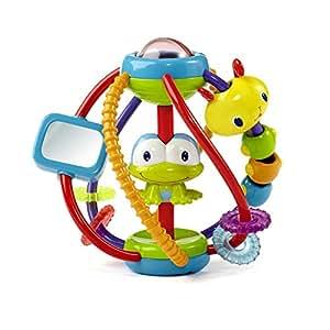 Bright Starts - Clack & Slide activity ball, juguete con sonido (KidsII 9051)