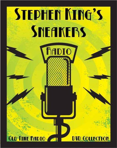 2 Classic Stephen King's Sneakers Old Time Radio Broadcasts on DVD (over 55 minutes running - Truck Maximum Overdrive