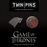 Game of Thrones Twin Pins: Two Enamel Pins