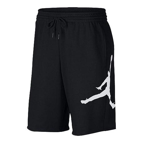 a3c9bf05d30 Nike Mens Jumpman Air Fleece Sweat Shorts Black/White AQ3115-010 Size 2X-