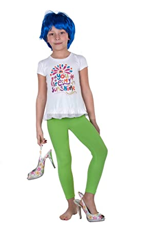 70e2f8f6 Intensive Lime Green Girls Leggings 95% Cotton Light Green Age 3 yrs - 12  yrs, Standard Light Green, 10 Years: Amazon.co.uk: Clothing