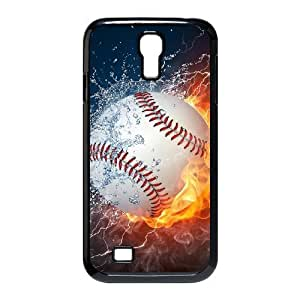 baseball Custom Cover Case with Hard Shell Protection for SamSung Galaxy S4 I9500 Case lxa#242578