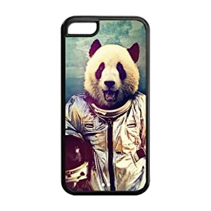 5C Phone Cases, Panda Hard TPU Rubber Cover Case for iPhone 5C