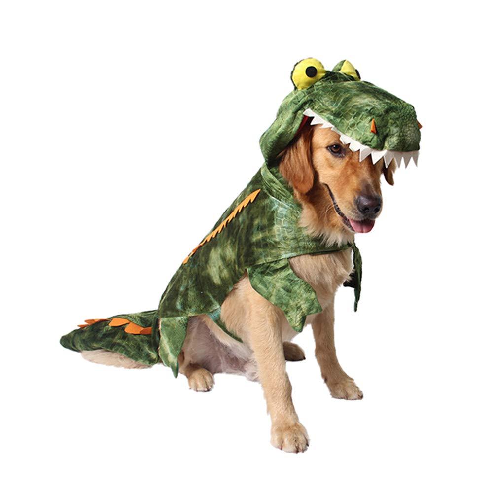 POPETPOP Disfraces para Mascotas, Ropa de Cocodrilo para Perros ...