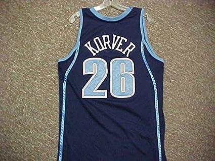 sale retailer fb3e4 23177 Kyle Korver Utah Jazz 2008-2009 Adidas Road Jersey at ...