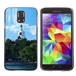"""For Samsung Galaxy S5 , S-type Pekín Parque Beihai"""" - Arte & diseño plástico duro Fundas Cover Cubre Hard Case Cover"""