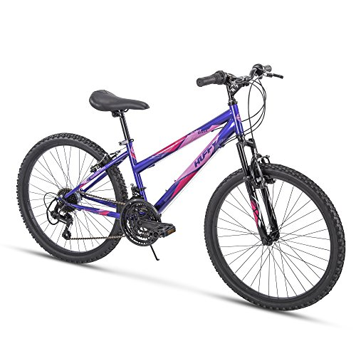 Huffy Hardtail Mountain Bike, Summit Ridge 24-26 inch 21-Speed, Lightweight ()