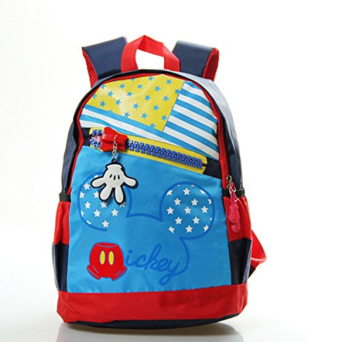 Sunny World Adorable Star Cartoon Schoolbag Nursery Small Backpack Rucksack Bag for Kindergarten Baby Kids Child (3-7yrs) (black)