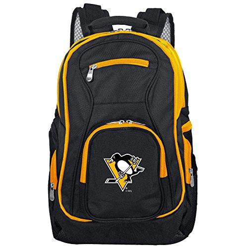 (NHL Pittsburgh Penguins Colored Trim Premium Laptop Backpack)