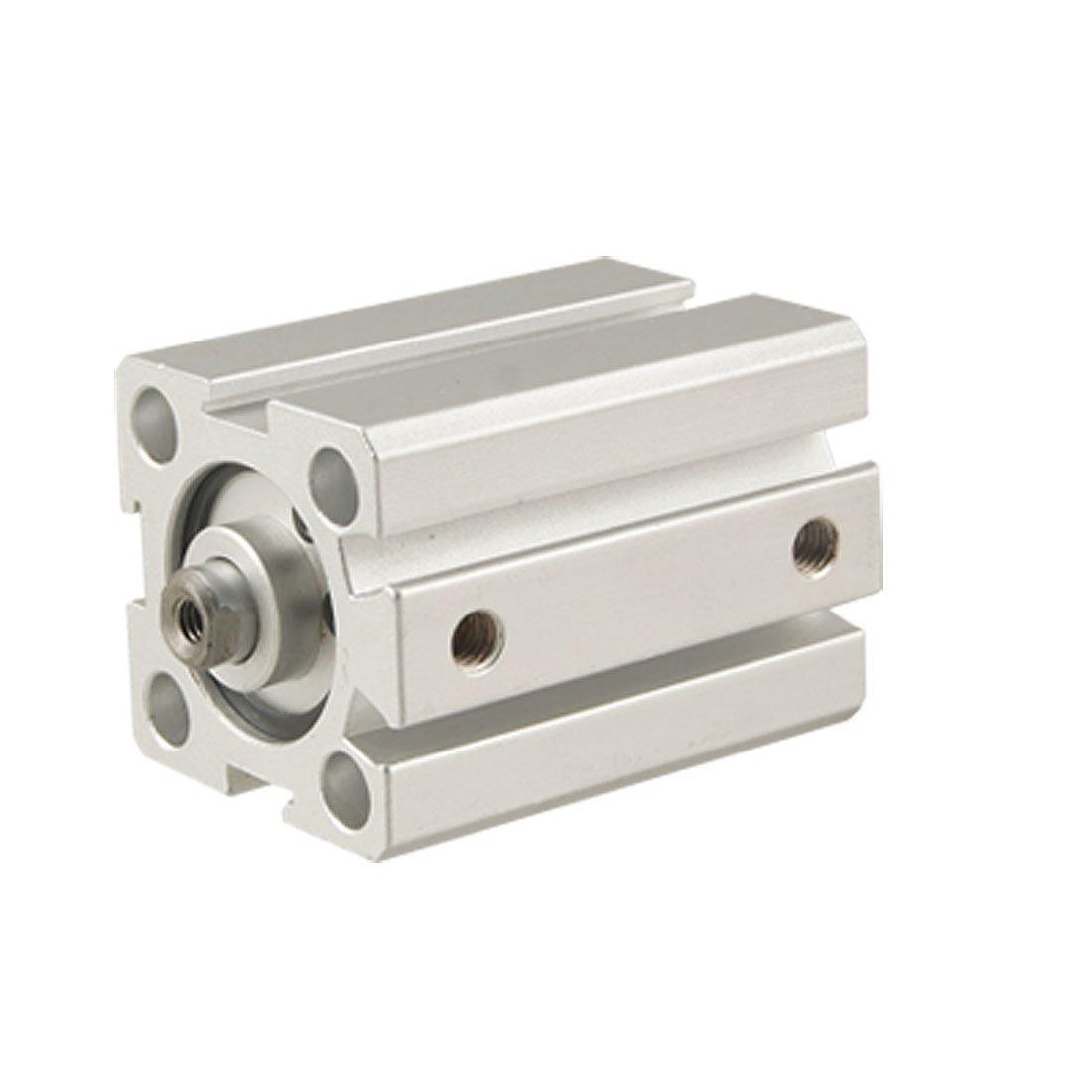 Sourcingmap, a11061600ux0071, 20 mm Stelo 30 mm Corsa doppio, il cilindro pneumatico