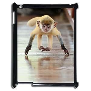 ALICASE Diy Cover Custom Case Monkey For IPad 2,3,4 [Pattern-1] wangjiang maoyi