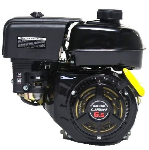 Lifan Power LF170F-BHQ 7 HP Horizontal Shaft Recoil Start Engine with 6:1